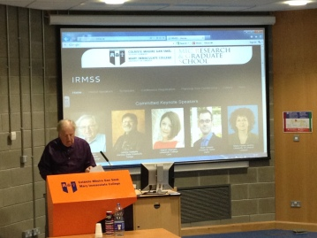 Prof Robert Stake at IRMSS 2014
