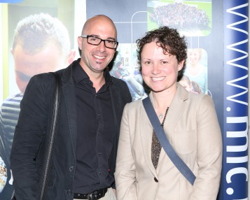 Dr James Carr, and Aoife Neary at IRMSS 2015