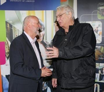Prof Jim Deegan & Prof Norman Denzin at IRMSS 2015