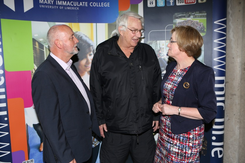 Prof Jim Deegan, Prof. Norman Denzin and Prof. Teresa Doherty at IRMSS2015
