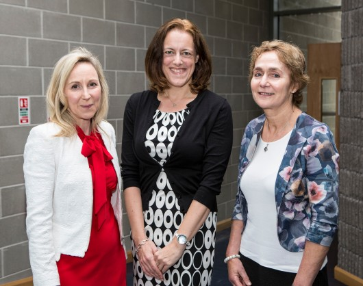 19/5/2017 With Compliments. Pictured attending the International Research Methods Summer School (IRMSS) at Mary Immaculate College were Dr Anne O'Keeffe, Director of Teaching and Learning MIC, Prof Ute Roemer, Georgia State University, and Dr Freda Mishan, course director, PhD TESOL UL. IRMSS, now in its sixth year, brings together researchers interested in pursuing the possibilities and potentials of research in new, different and alternative discursive and representational spaces and in the context of a memorable social, professional and residential community of practice. Photograph Liam Burke Press 22